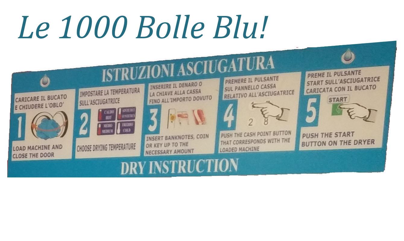 Le Mille Bolle Blu - La Lavanderia dei Pistoiesi